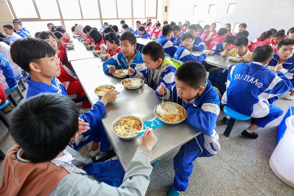 Wszystkie dzieci jedzą to samo