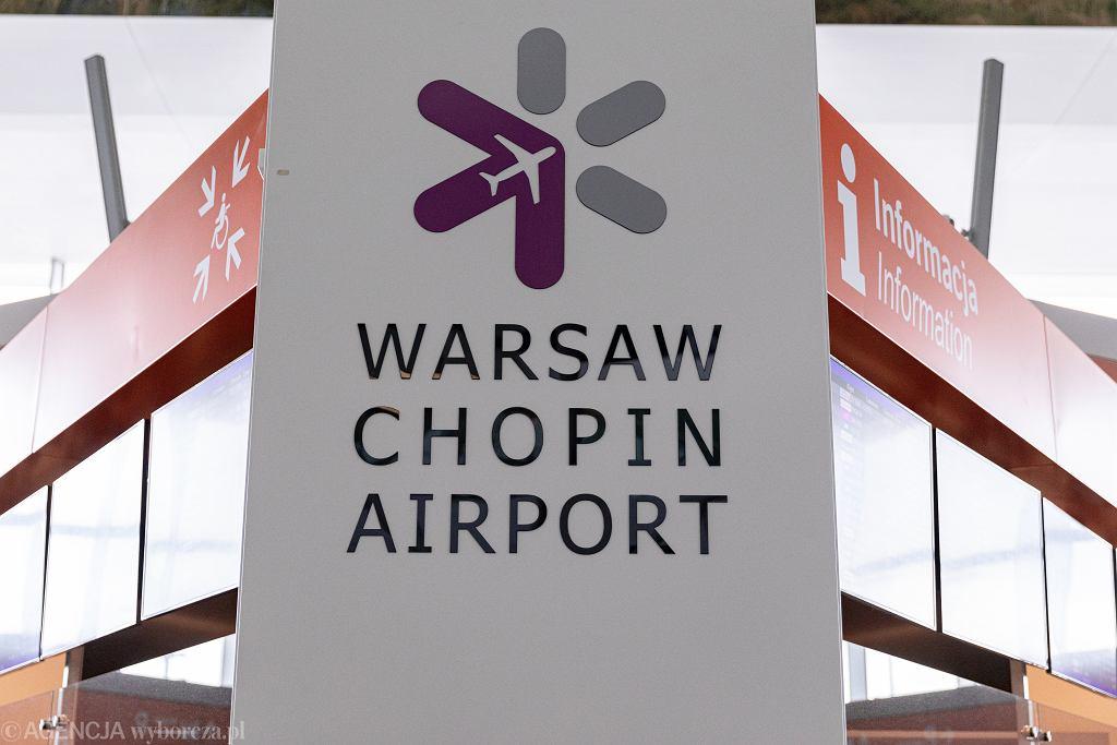 Warszawskie lotnisko im. Fryderyka Chopina