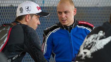 Piotr Protasiewicz i Jarosław Hampel
