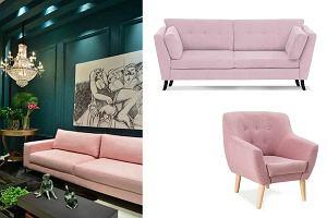 Pastelowe kanapy i fotele: modny element wystroju twojego wnętrza