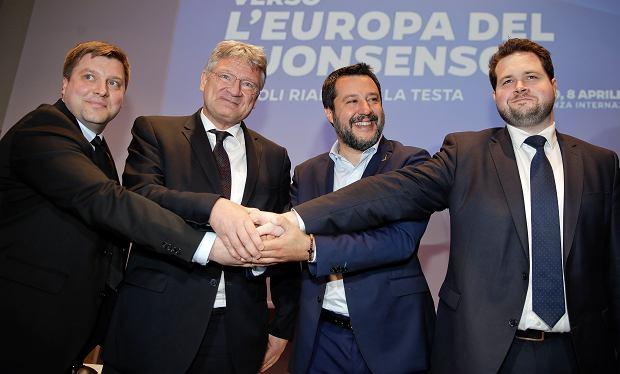 Jednocząca się skrajna prawica europejska