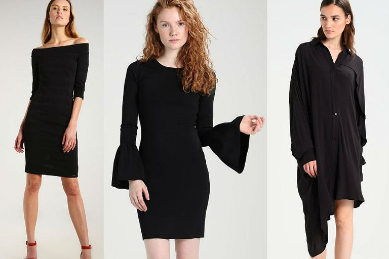 035107b5d8 Czarna sukienka - przegląd fasonów idealnych na zimę