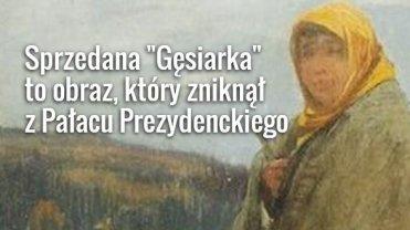 """Zaginiona """"Gęsiarka"""""""
