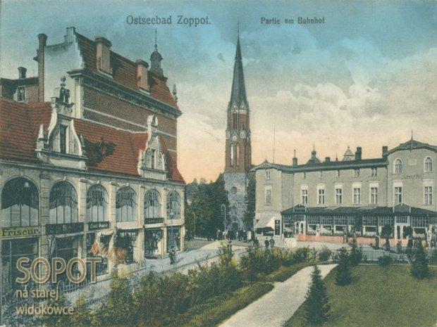 Zdjęcie numer 0 w galerii - Tak wyglądał Sopot przed wojną [STARE POCZTÓWKI]