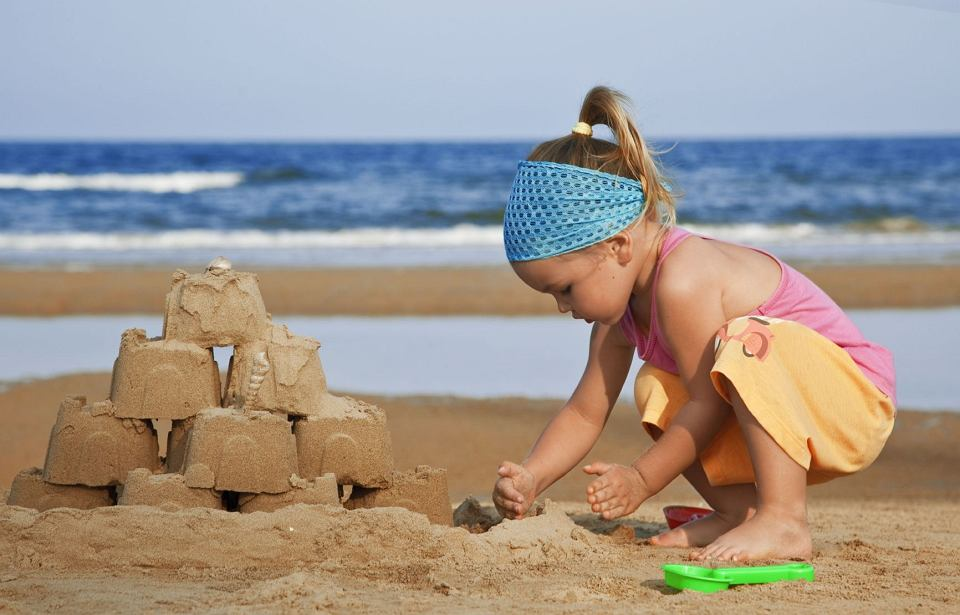 Zamki z piasku - ich budowa naprawdę wciąga