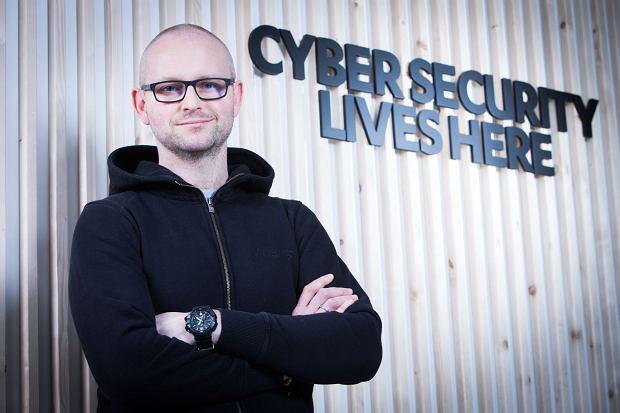 Leszek Tasiemski, szef poznańskiego oddziału Cyber Security Service F-Secure