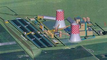Elektrownia Północ miała powstać na działce o powierzchni 90 ha.