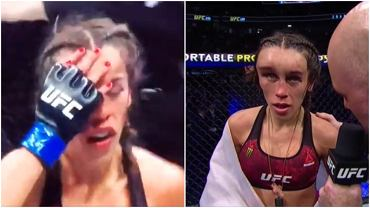 Joanna Jędrzejczyk na gali UFC 248