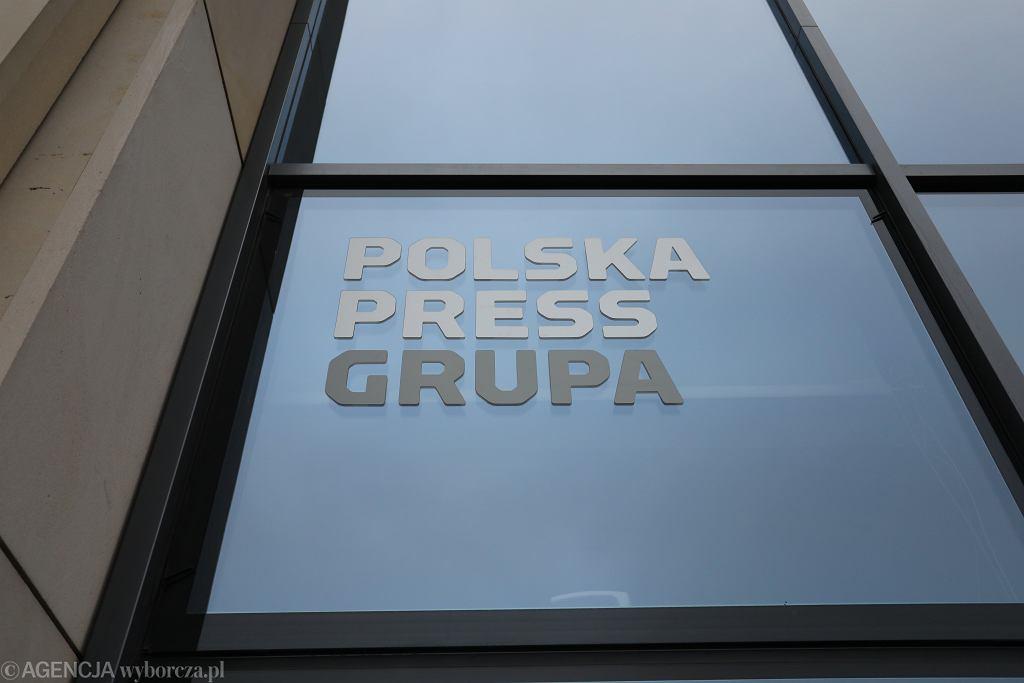 Siedziba wydawnictwa Polska Press w Warszawie