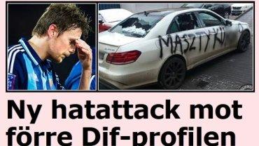 Szwedzka gazeta o rzekomym zdewastowaniu auta Kaspra Hamalainena