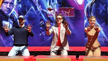Chris Evans, Robert Downey Jr. i Scarlett Johansson - obsada 'Avengers: Endgame'