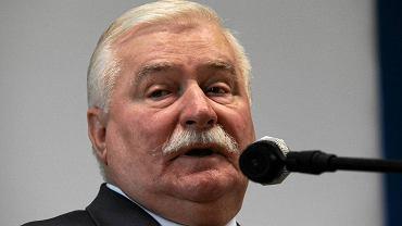 25. rocznica wolnych wyborów. Lech Wałęsa podczas obchodów w Mławie