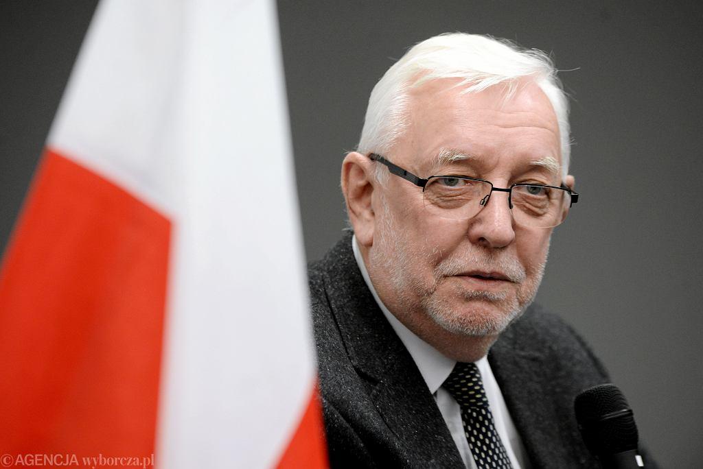 Jerzy Stępień, były prezes Trybunału Konstytucyjnego