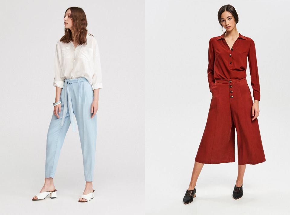 Spodnie z lyocellu idealnym rozwiązaniem na upalne dni