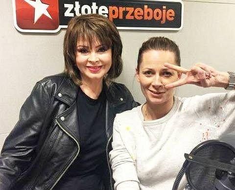 Izabela Trojanowska i Odeta Moro w programie 'Morowy Weekend'