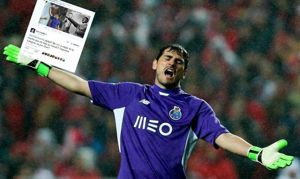 Emocjonalny komentarz Ikera Casillasa