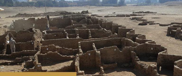 """Niesamowite odkrycie w Egipcie. Archeolodzy znaleźli """"zaginione złote miasto"""""""