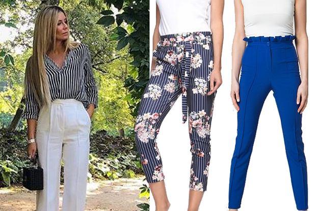 spodnie, które zatuszują boczki/mat. partnera/www.instagram.com/m_rozenek/