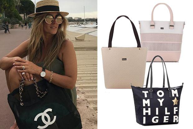 shopper bag/mat. partnera/www.instagram.com/karolinaszostak/