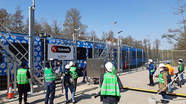 Pociąg na wodór firmy Alstom