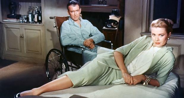 Kadr z filmu 'Okno na podwórze'