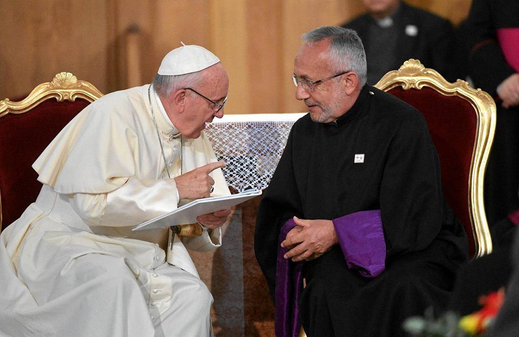Papież w Gruzji
