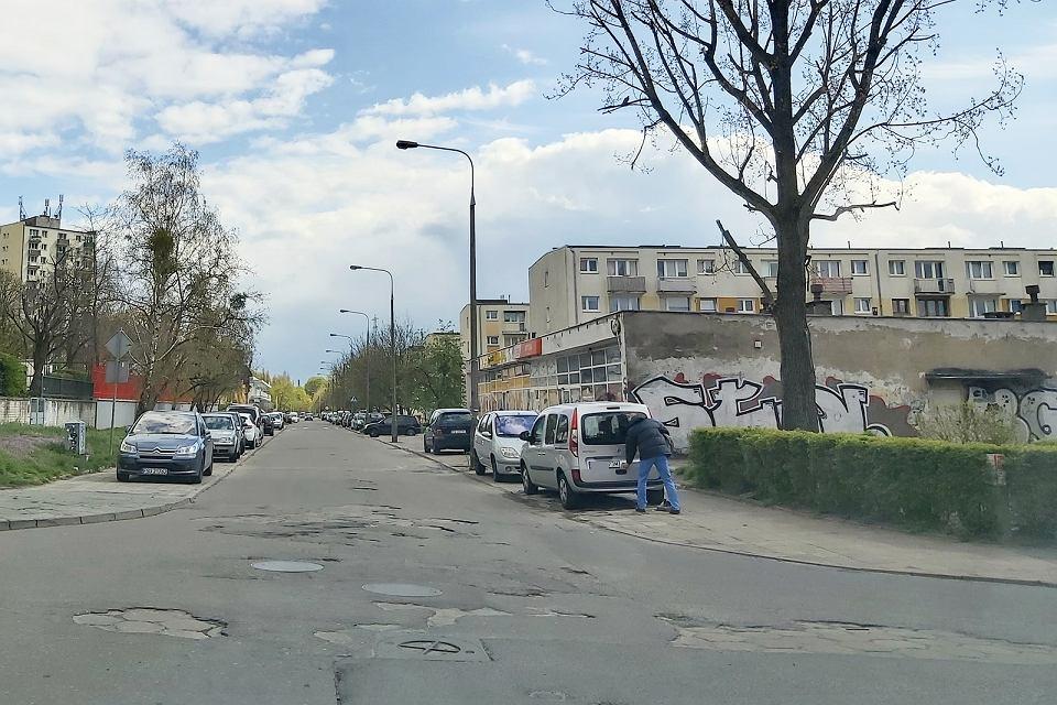 Maj 2021 r. Ul. Słoneczna w Gorzowie być może jeszcze w tym roku doczeka się remontu