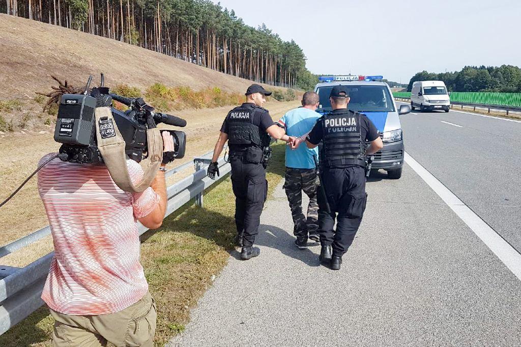 Pijany kierowca szarżował po A2. Dla 31-latka zabrakło skali na alkomacie