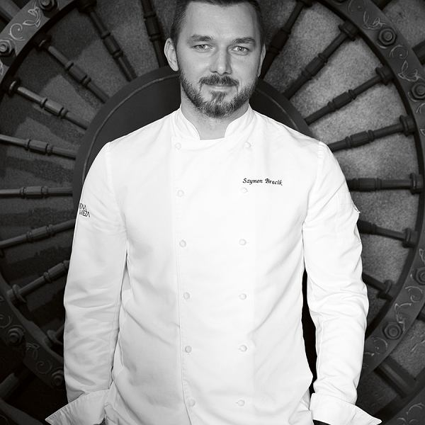 Szymon Bracik, szefkuchni restauracji Wodna Wieża wPszczynie