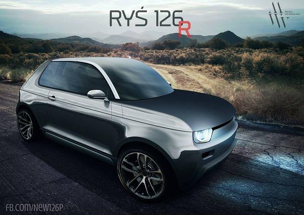 Ryś 126 - następca malucha, polski samochód elektryczny
