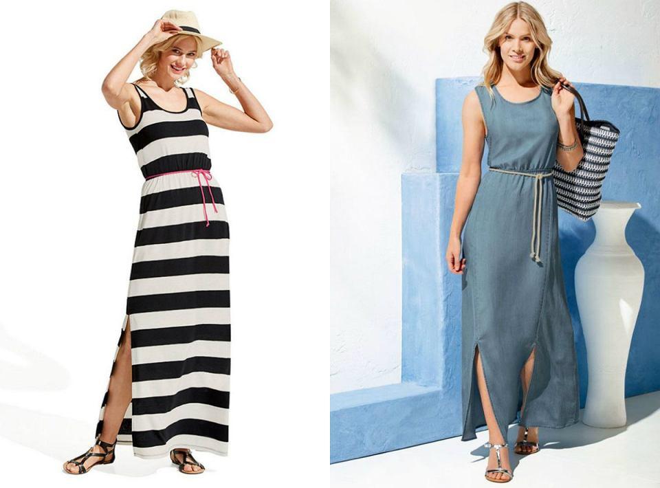 Wakacyjne sukienki maxi z Lidla