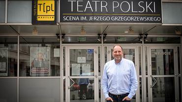 Jacek Gawroński, dyrektor Teatru Polskiego we Wrocławiu