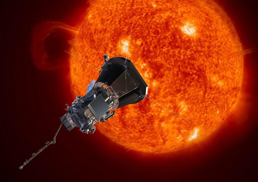 Parker Solar Probe - wizualizacja