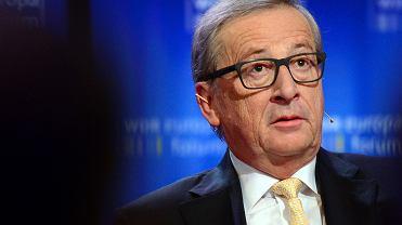 Jean Claude Juncker na Europa Forum w Berlinie, 1 czerwca 2017