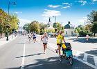 Biegają w duecie odkąd Iga skończyła 3 miesiące. Tata, który łączy obowiązki z pasją do biegania