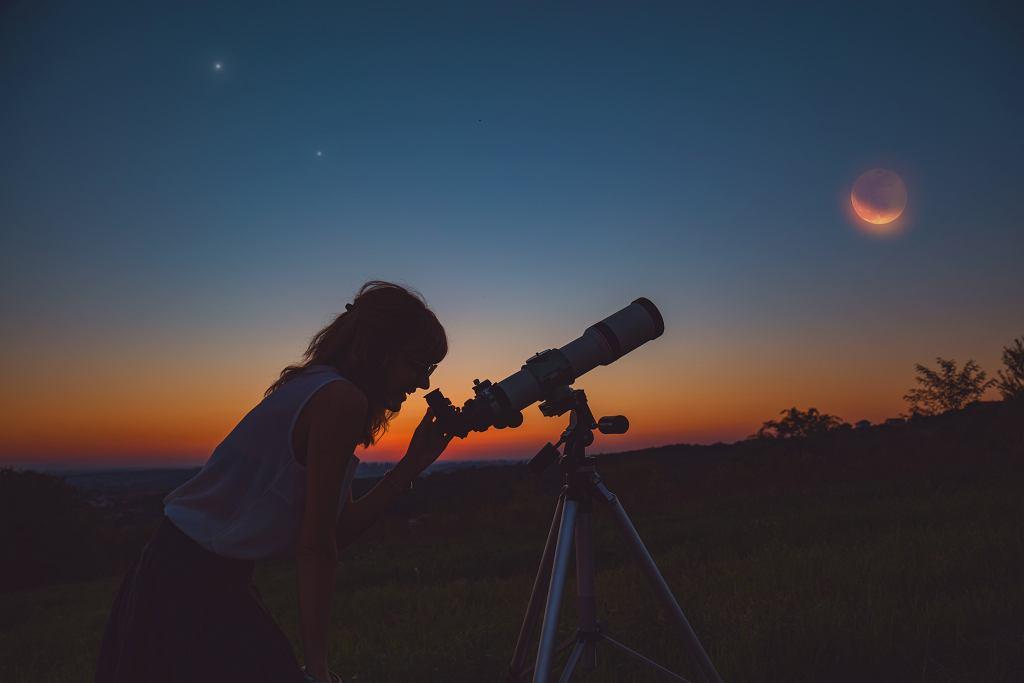 Półcieniowe zaćmienie Ksieżyca można oglądać w nocy z sobotę na niedzielę w pierwszy weekend lipca