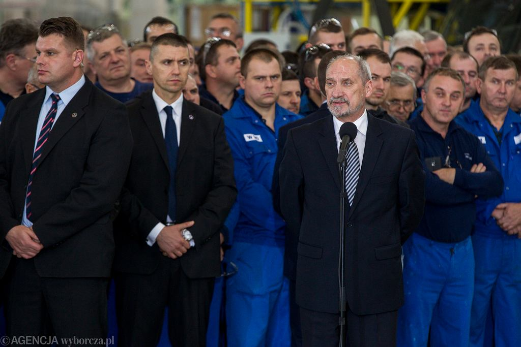 Antoni Macierewicz w Mielcu