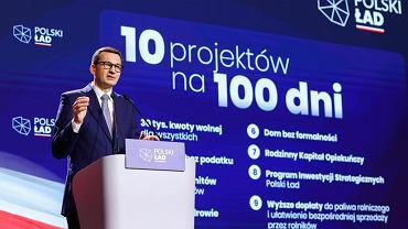 Premier Mateusz Morawiecki zdradził, skąd rząd weźmie środki na założenia Polskiego Ładu