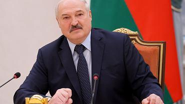 Prezydent Białorusi Alaksandr Łukaszenka