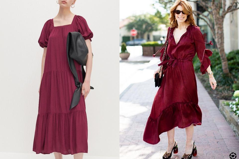 Filetowe sukienki podkreślają urodę