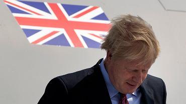 Boris Johnson,. premier Wielkiej Brytanii
