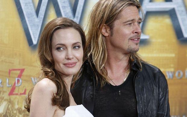 ?06/04/2013 - Brad Pitt and Angelina Jolie - World War Z
