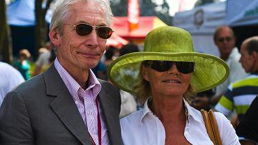 Charlie i Shirley Watts na aukcji Pride of Poland w Janowie Podlaskim, 07.08.2011