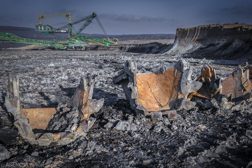 Bogatynia. Kopalnia odkrywkowa węgla brunatnego Turów.