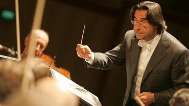 25.06.2007 Warszawa, Riccardo Muti w  Operze Narodowej