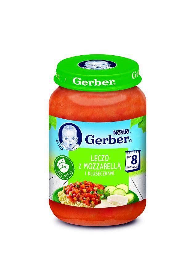 Gerber Leczo z mozzarellą i kluseczkami