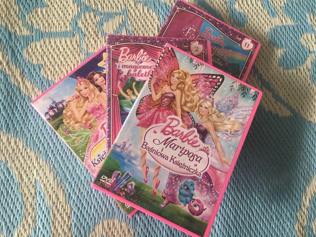 Bajki Barbie po polsku na DVD - a to tylko kropla w morzu wszystkich, jakie są dostępne.