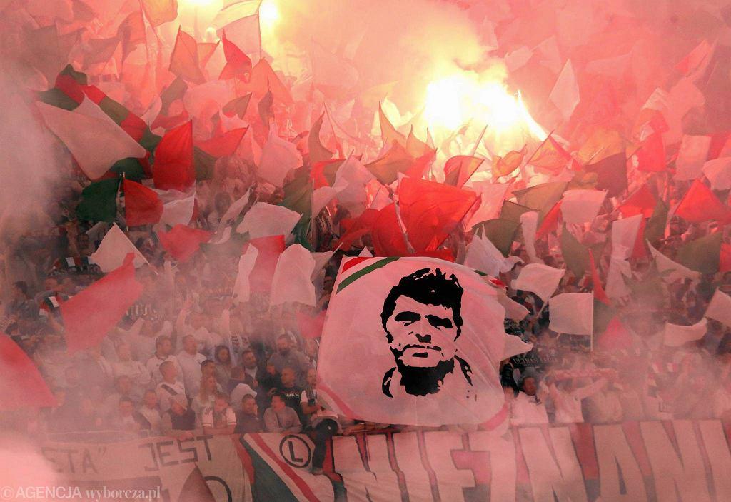Oprawa na meczu Legia - Napoli