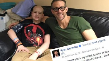 Connor McGrath i Ryan Reynolds