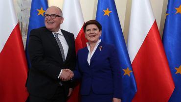 Frans Timmermans i Beata Szydło. Takiej przyjaźni jak wtedy między Polską i Unią, teraz już nie ma